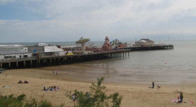 Clacton Pier & Beach