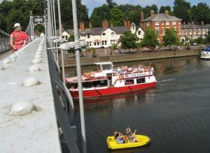 Boat trip, Pedal Boat hire ... or both!