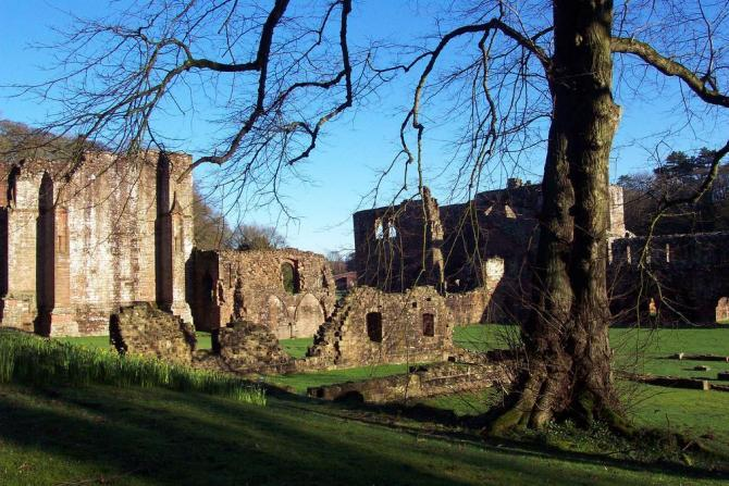 Furness Abbey Ruins near Barrow
