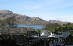 Lakeside Cafes with spectacular views