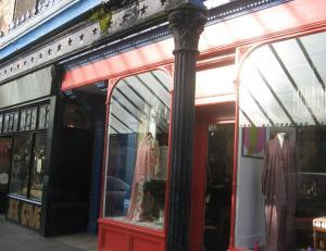 Chic shops in Salburn with vintage frontage