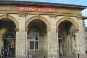 A Victorian boom with the establishment of a railway link!