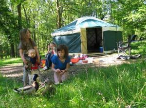 Family Glamping in the Lake District