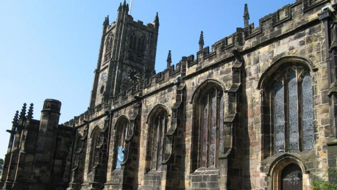 Medieval Priory Church of St Mary, Lancaster
