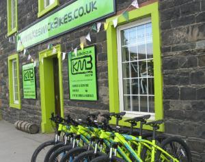 Hire bikes for a day or full week from Keswick Bikes
