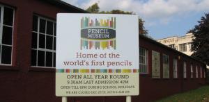 Pencil Museum, Keswick - the original Cumberland Pencils factory is adjacent to the museum