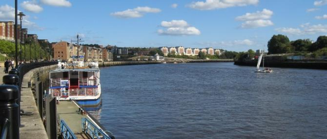 River Tyne, Newcastle Waterfront