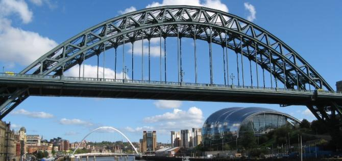 NewcastleGateshead Riverscape