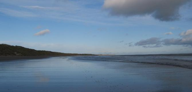 Big skies & endless sands, Druridge Bay, Northumberland Coast