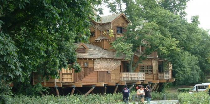 The Alnwick Garden - The Treehouse