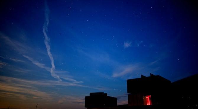Stargazing in Kielder Forest Park - Dark Skies area above Kielder Observatory