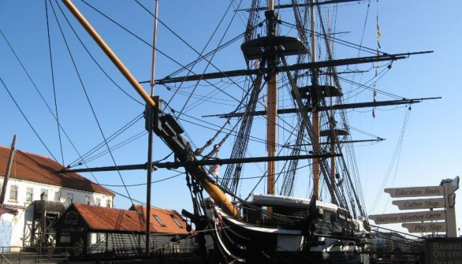 HMS Trincomalee at Hartlepool's Maritime Experience