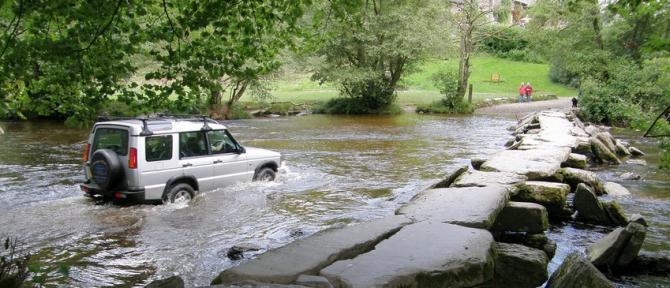 Exmoor 4x4 Off Roading - Tarr Steps