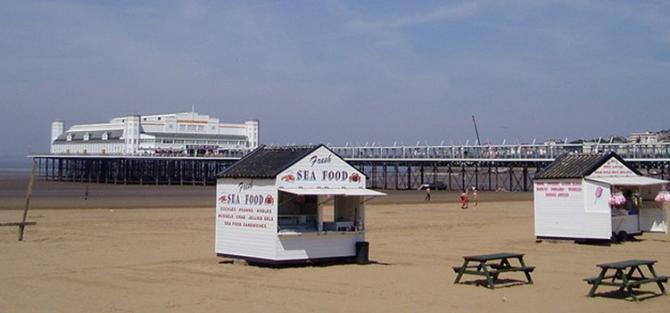 Grand Pier & Weston-super-Mare Beach