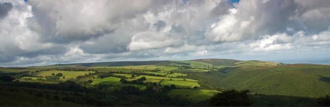 View from Dunkery Hill, Exmoor