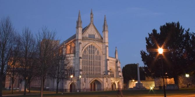 Winchester Cathedral, Britain on View