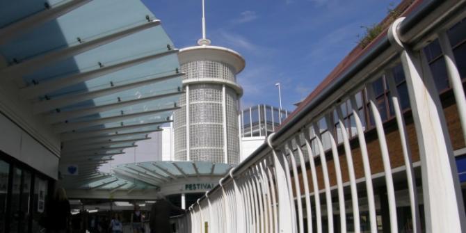 Festival Place Shopping Centre in Basingstoke