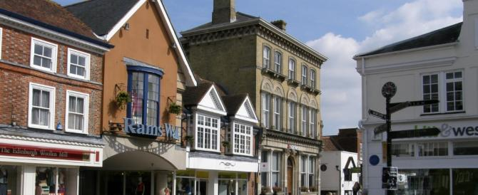 Petersfield Town Centre