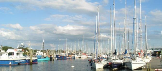 Lymington Harbour - New Forest Coast