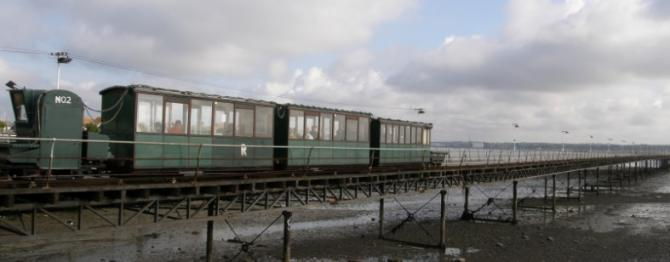 Hythe's Grade Listed Electric Pier Train