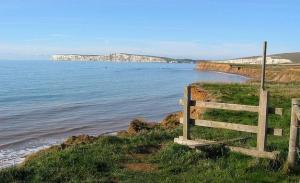 Coast Path at Tennyson Down near The Needles