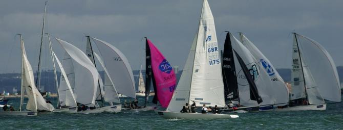 Isle of Wight Sailing during Cowes Week