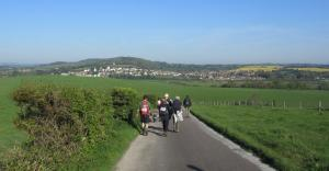 Walking around Culver Down, Isle of Wight