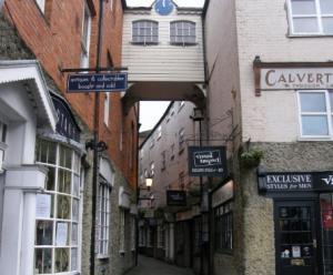 Newport's historic centre
