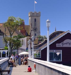 Yarmouth town view from the pier