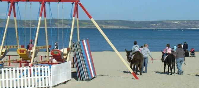 Weymouth Donkey rides