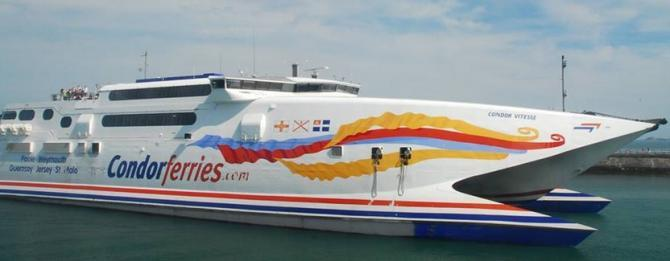 Condor Ferries from Weymouth to St Malo & The Channel Islands