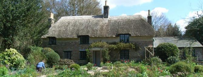 Hardy's Cottage at Higher Bockhampton near Dorchester, Dorset