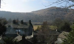 View towards Silver Howe from Dove Cottage, Grasmere
