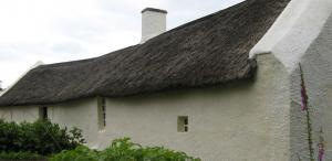 Robert Burns - Birthplace Cottage in Alloway near Ayr, South Ayrshire