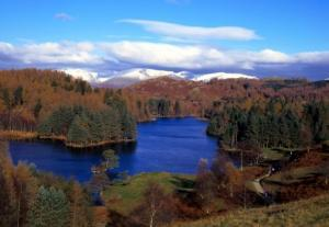 Tarn Hows near Coniston in the Lake District
