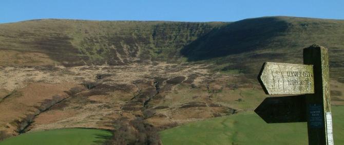 Upper Tarrell Valley, Brecon Beacons Wales