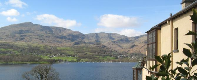 Literary Lovers - weddings at John Ruskin's Brantwood overlooking Coniston Water, Lake District