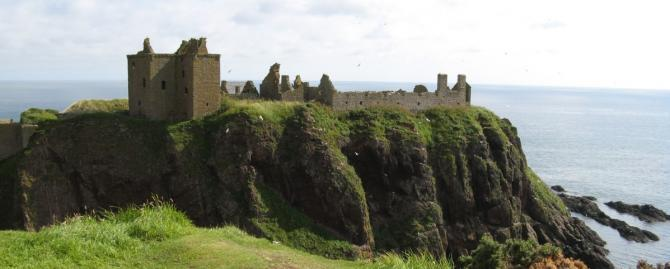 Magical Castle Weddings - Dunnottar Castle near Stonehaven, Scotland