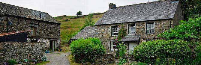 Group farmhouse accommodation in Windermere, Lake District