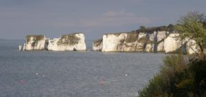 View of Old Harry Rocks from Studland
