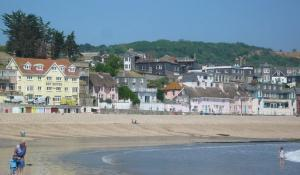 Lyme Regis sand & shingle beach