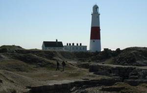 Exploring around Portland Bill Lighthouse