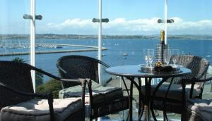 Luxury apartments overlooking Portland Harbour