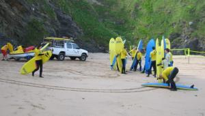 Surfing Lesson in Newquay