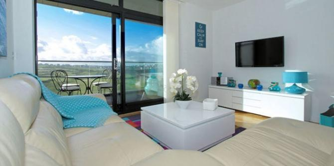 Luxury Newquay apartments overlooking Fistral Beach