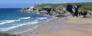 Polly Joke beach between Crantock & Holywell