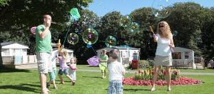 Family friendly holiday parks on the Newquay Coast