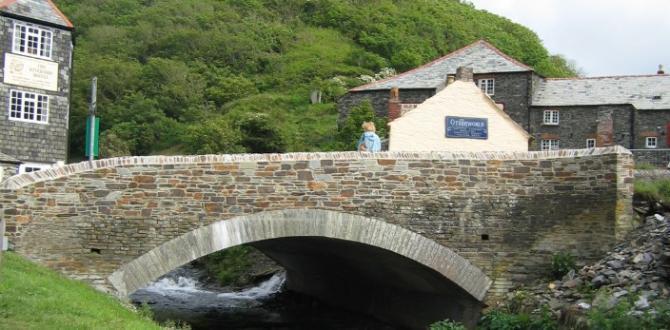 Boscastle, North Cornwall