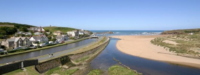 Bude, North Cornwall Coast