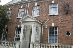 Lawrence House Museum in a Georgian townhouse built in 1753